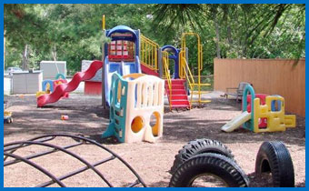 Hampton Lane Child Development Center playground