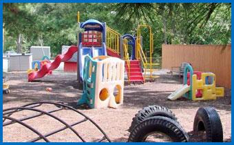 Hampton Lane Child Development Center playground